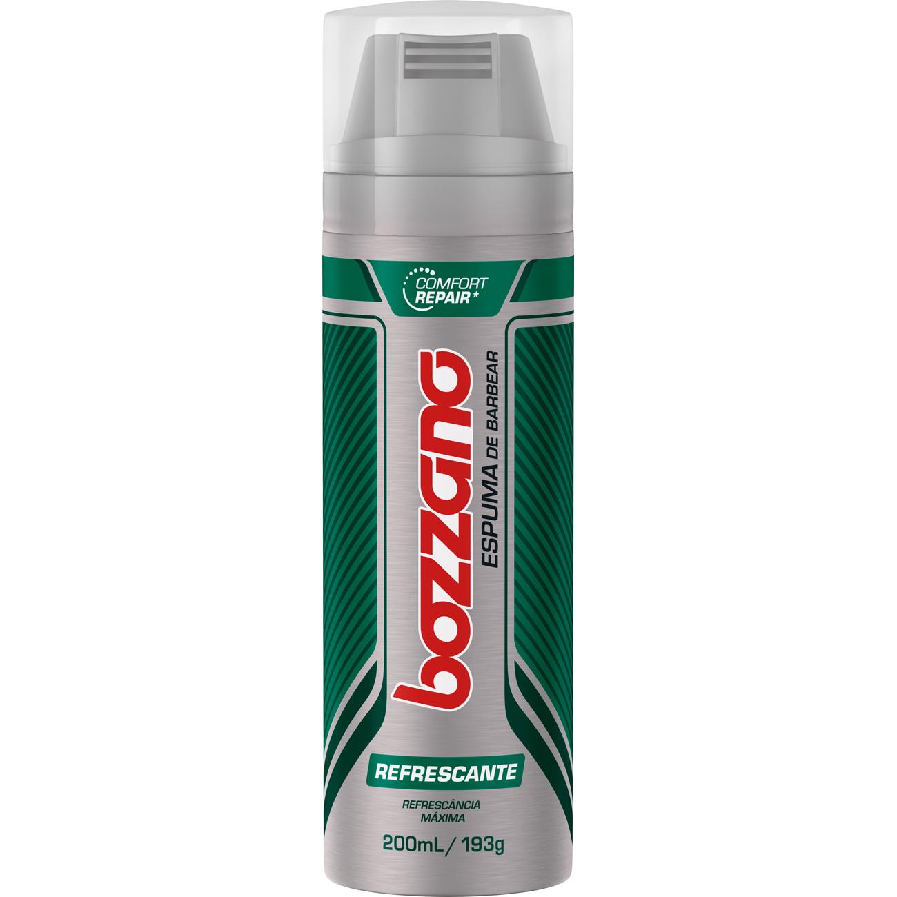 Espuma de Barbear Bozzano 190G Refrescante