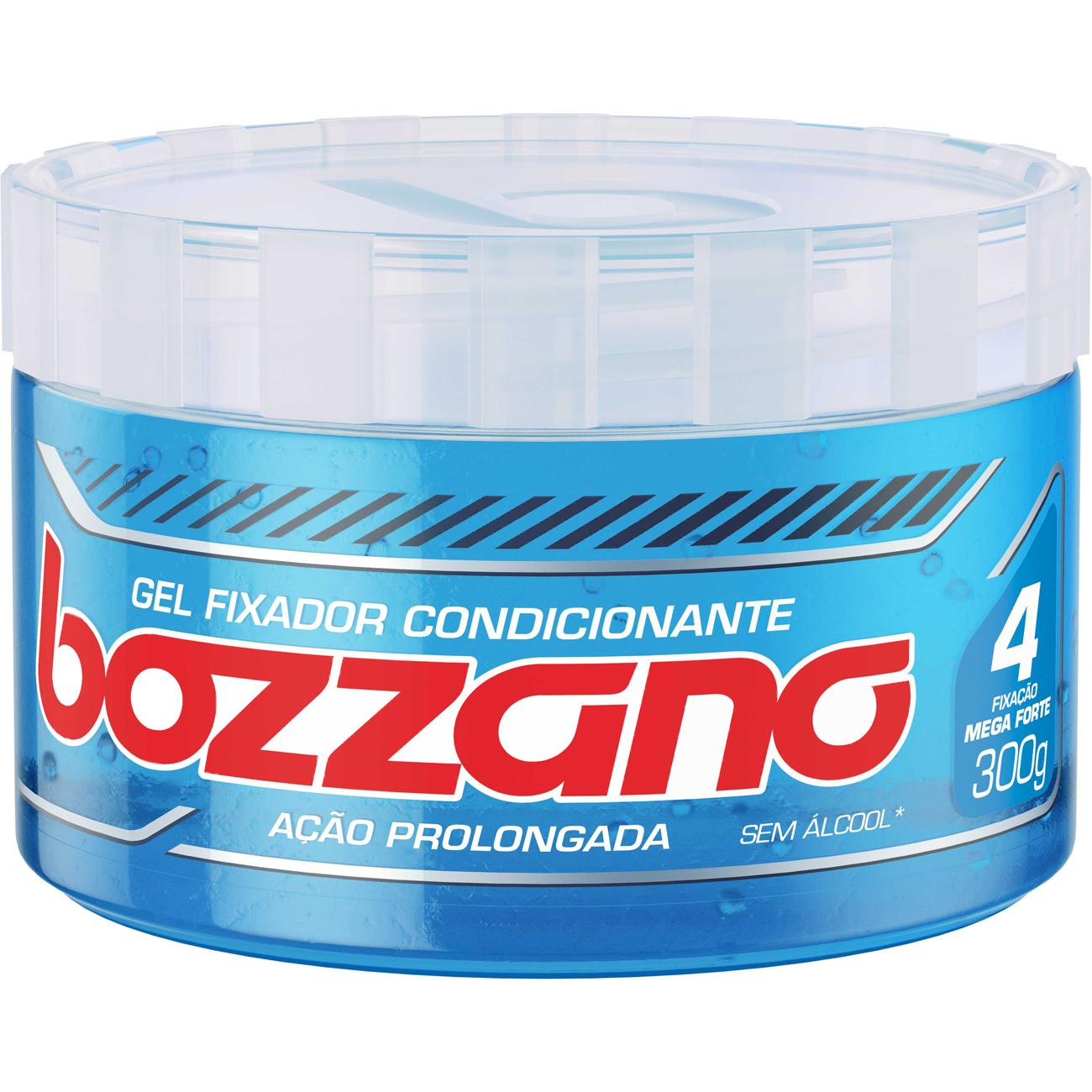 Gel Fixador Bozzano 300G Azul Fat4