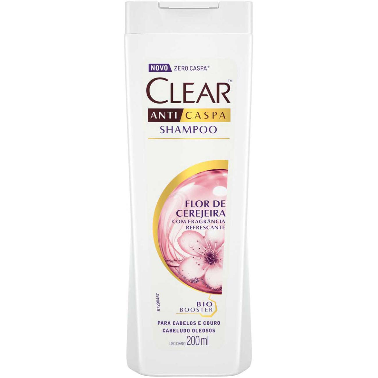 Shampoo Clear 200Ml Flor Cerejeira