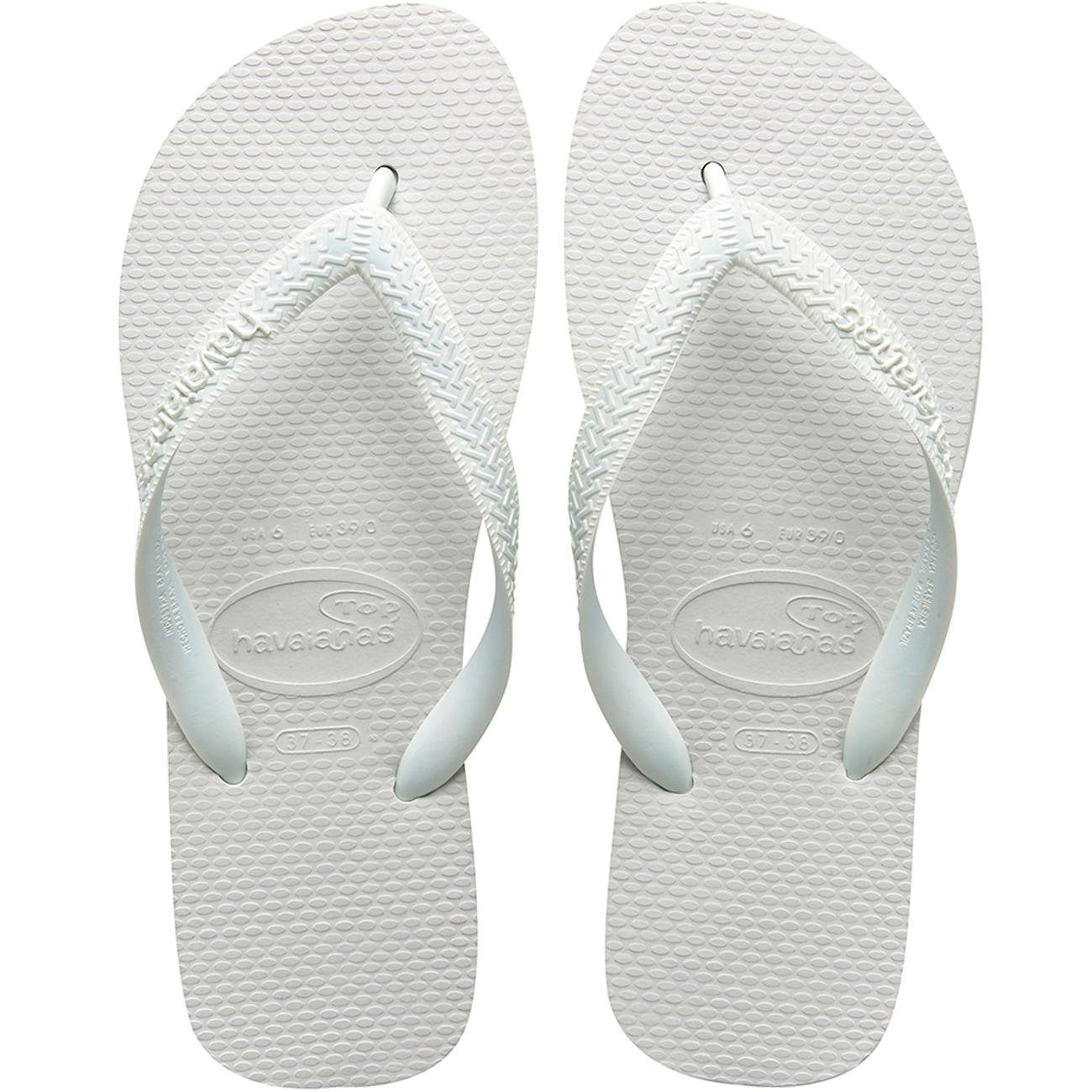 Sandalia Havaianas Top Branco 41/2