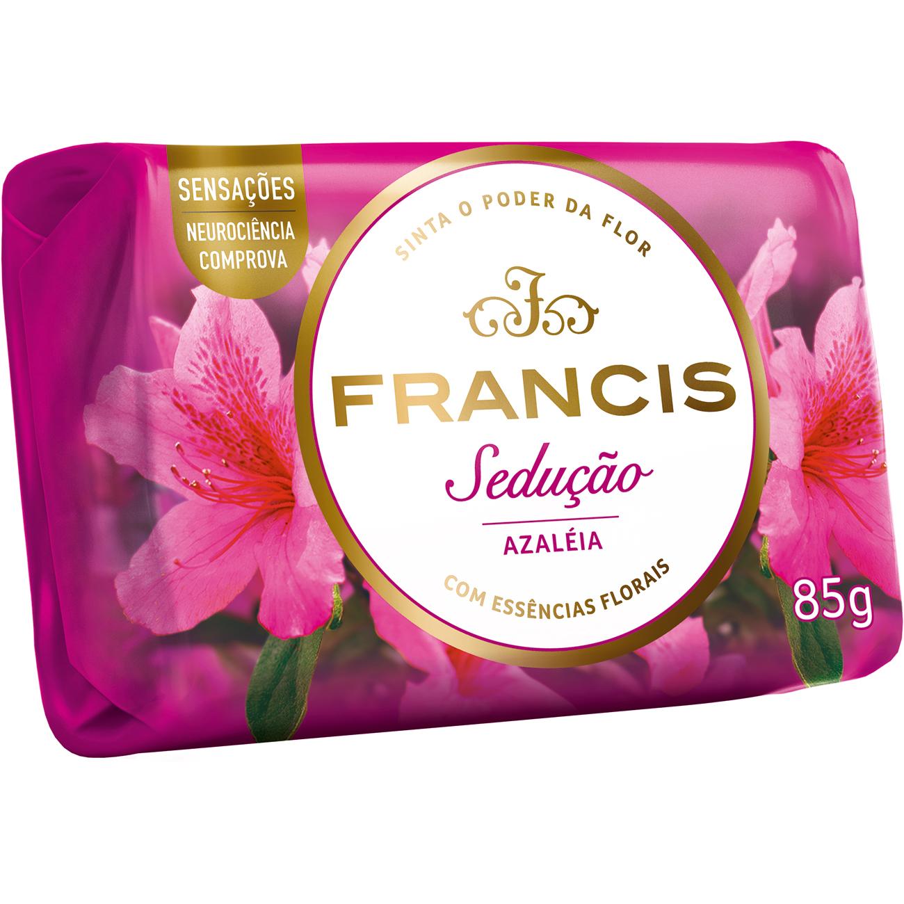 Sabonete em Barra Francis Sensacoes Seducao Azaleia 85G