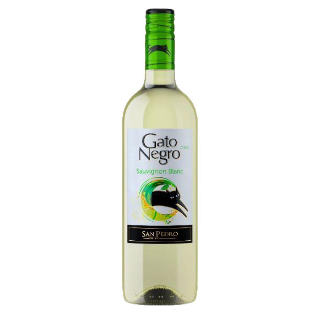 Vinho Gato Negro Sauvblanc Blanc 750ml