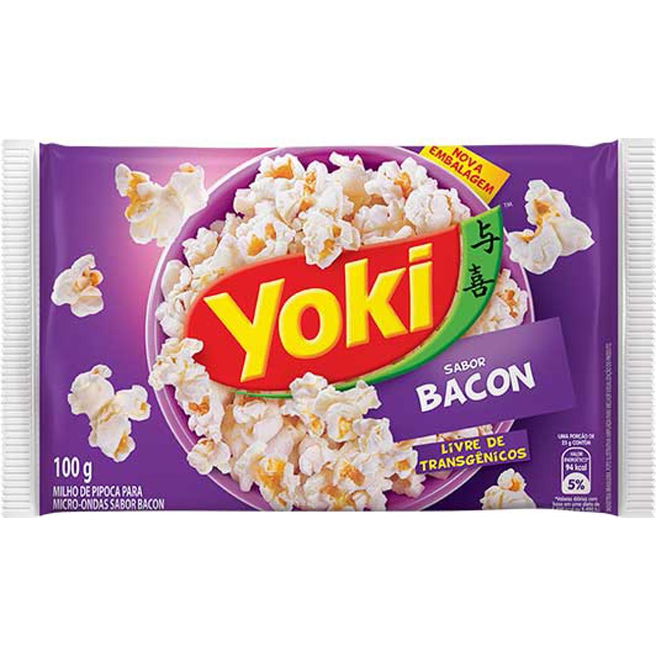 Milho Pipoca Popcorn 100G Micreme Bacon