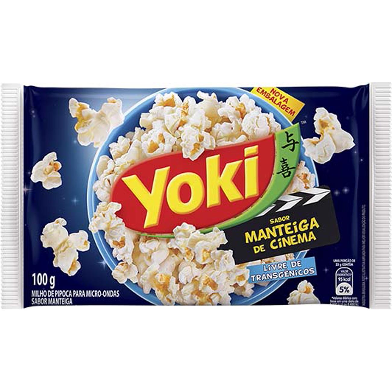 Milho Pipoca Popcorn 100G Micreme Mantcinema