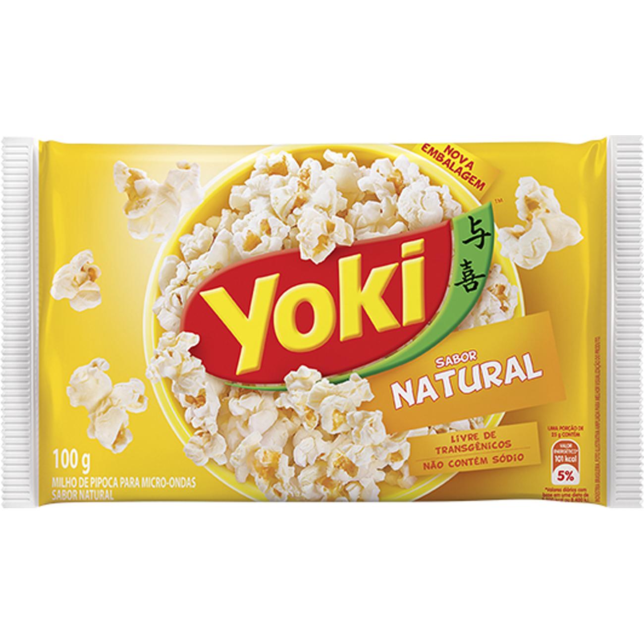 Milho Pipoca Popcorn 100G Micreme Natural