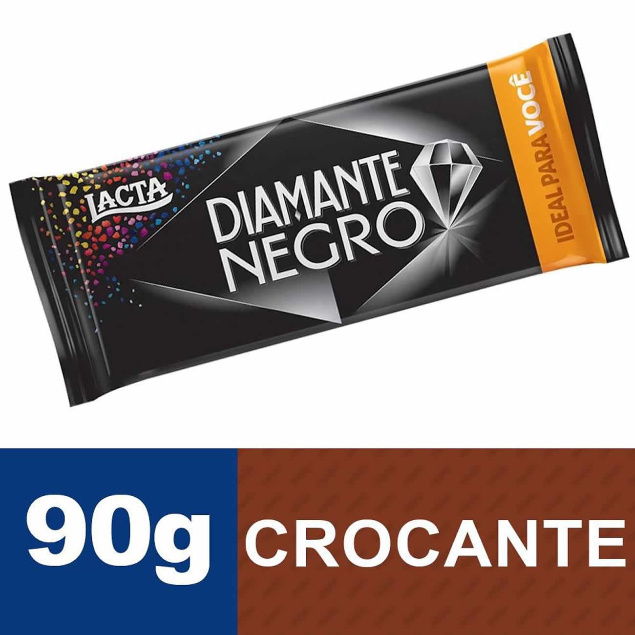 Chocolate Diamante Negro 90g