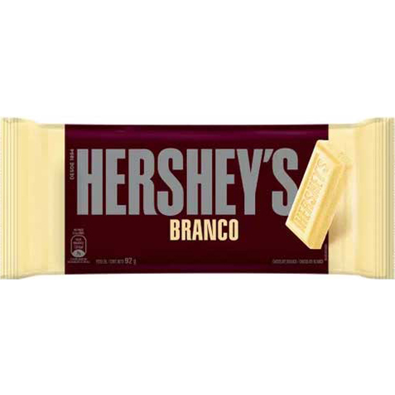 Chocolate Hersheys 92G Branco
