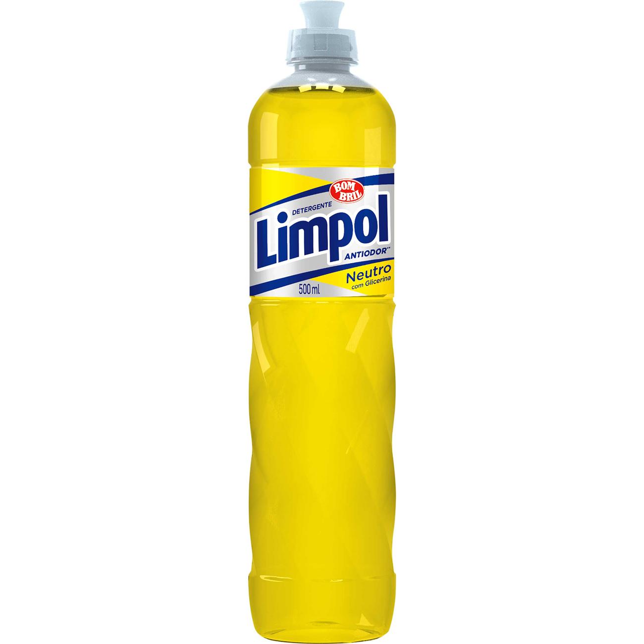 Lava Louca Limpol 500Ml Neutro