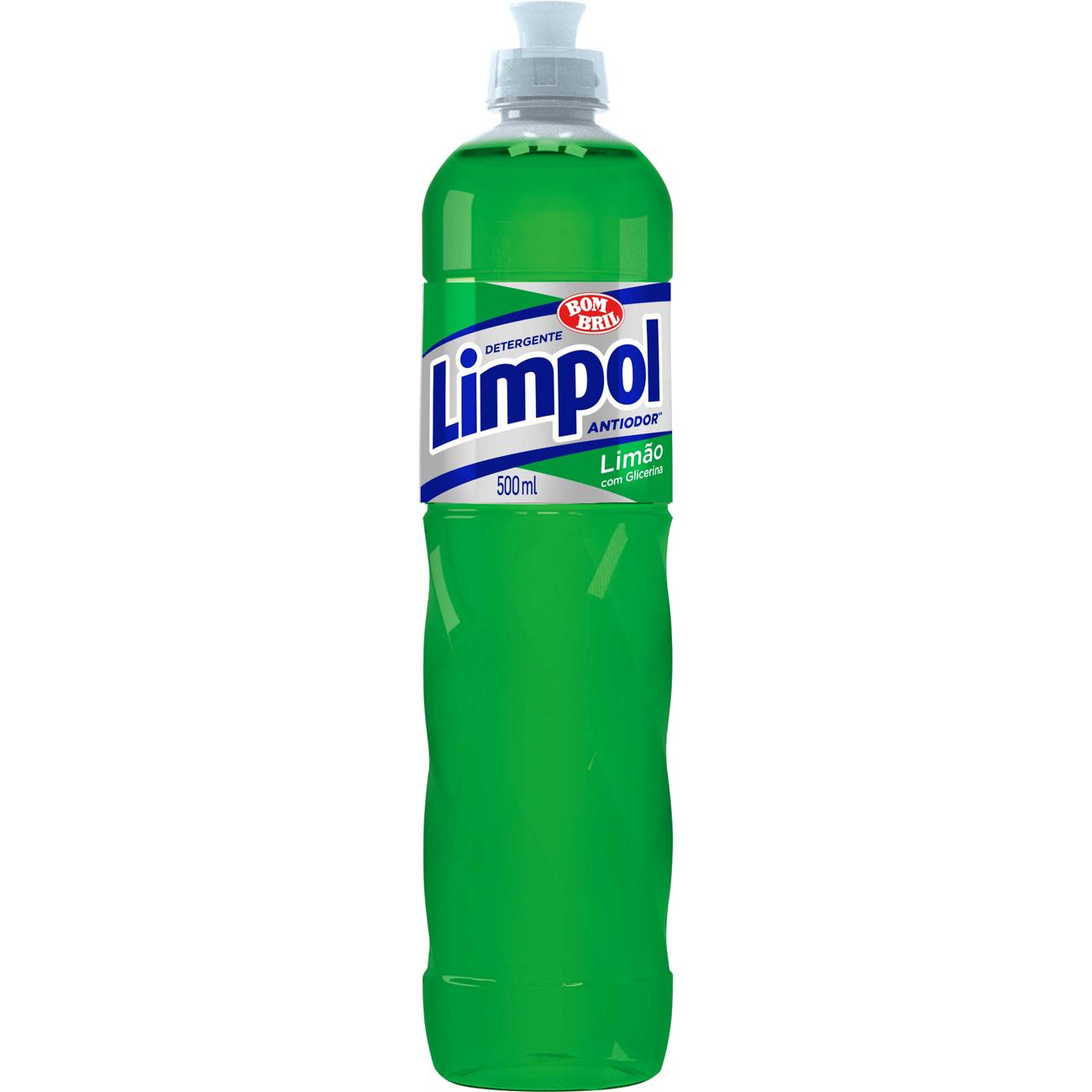 Lava Louca Limpol 500Ml Limao