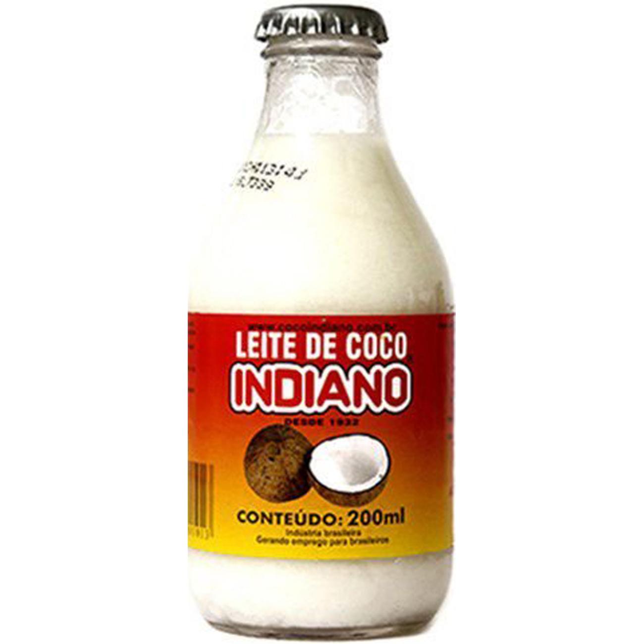 Leite de Coco Indiano 200Ml