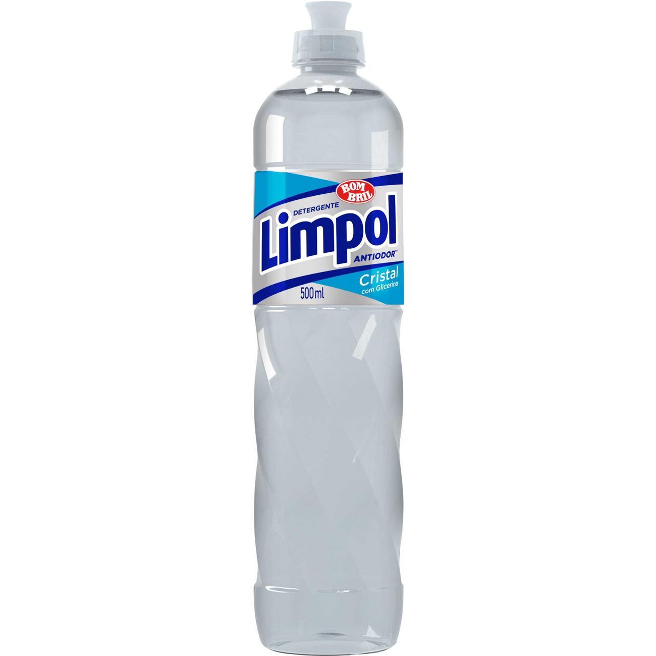 Lava Louca Limpol 500Ml Cristal