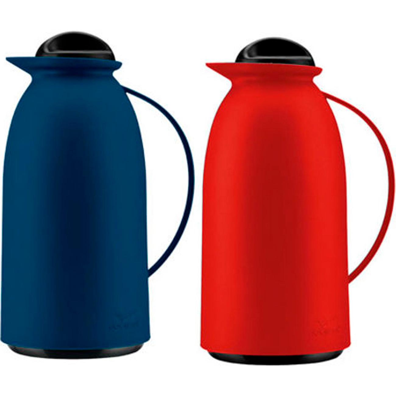 Garrafa Termica Invicta 750Ml Vogue Azul - Vermelho