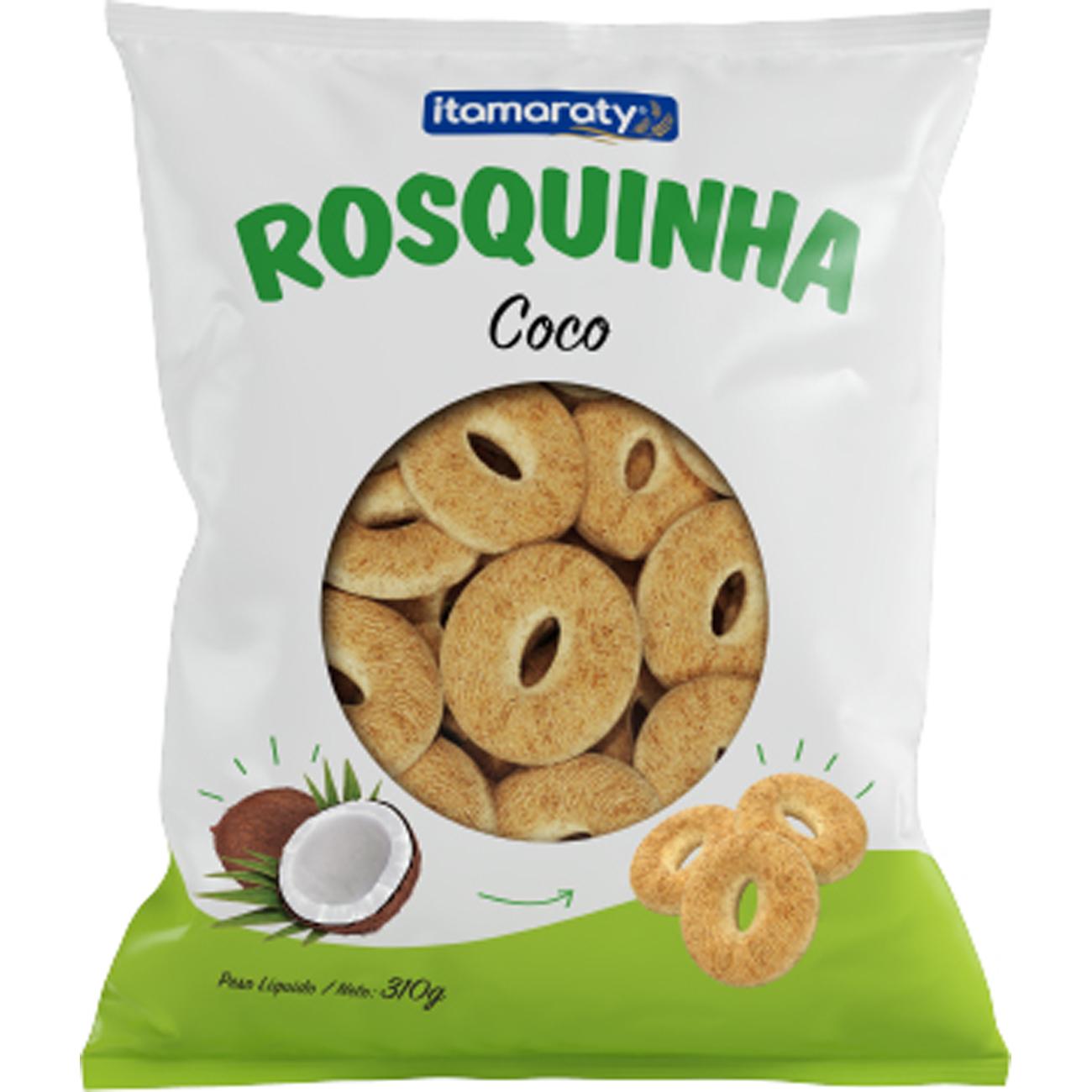 Biscoito Itamaraty 310G Rosq Coco