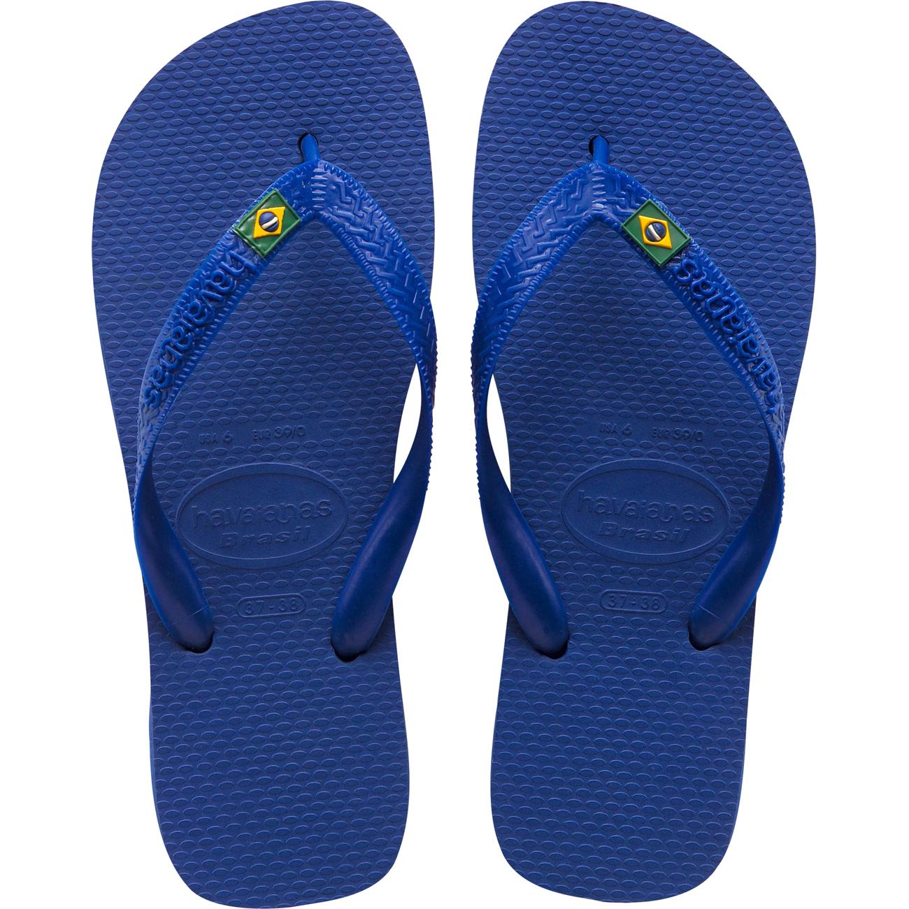 Sandalia Havaianas Brasil Azul Naval 45/6