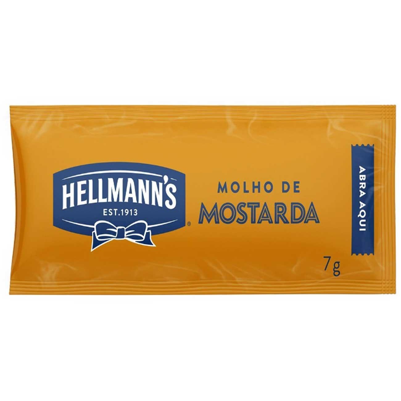 Mostarda Hellmanns 168x7g