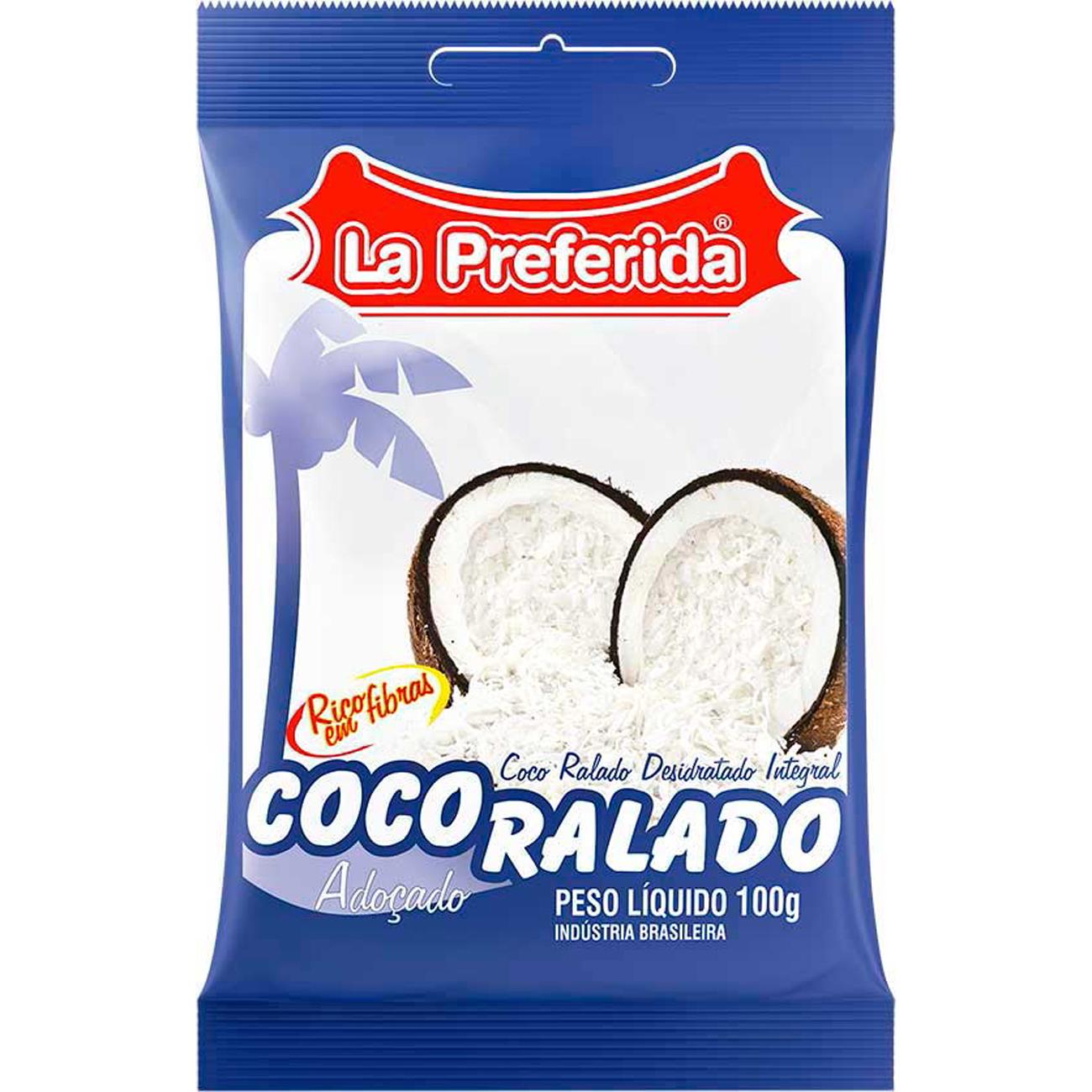 Coco Ralla Preferida 100G Adocado