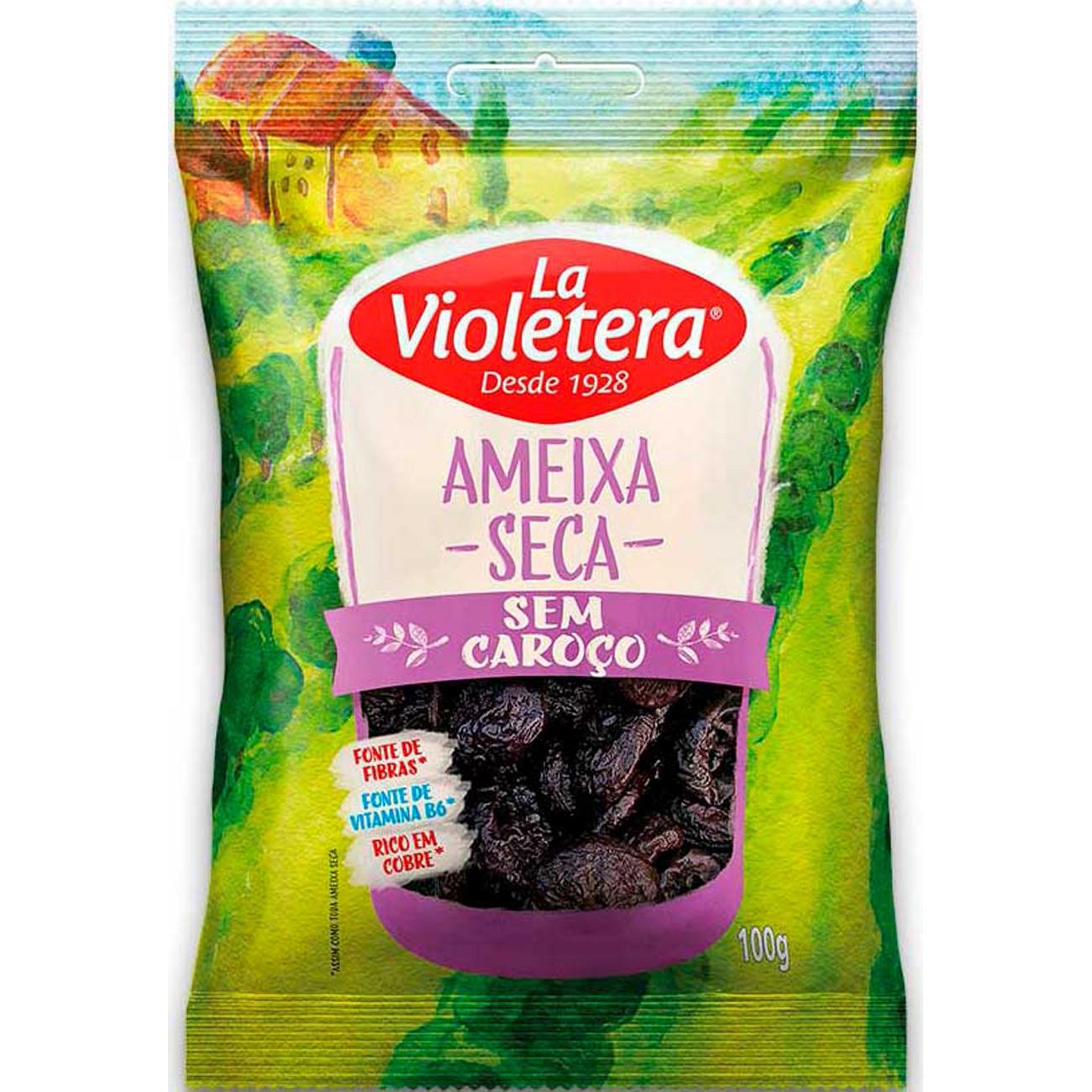 Fruta Natural Ameixa Sc La Violetera 100G S/C