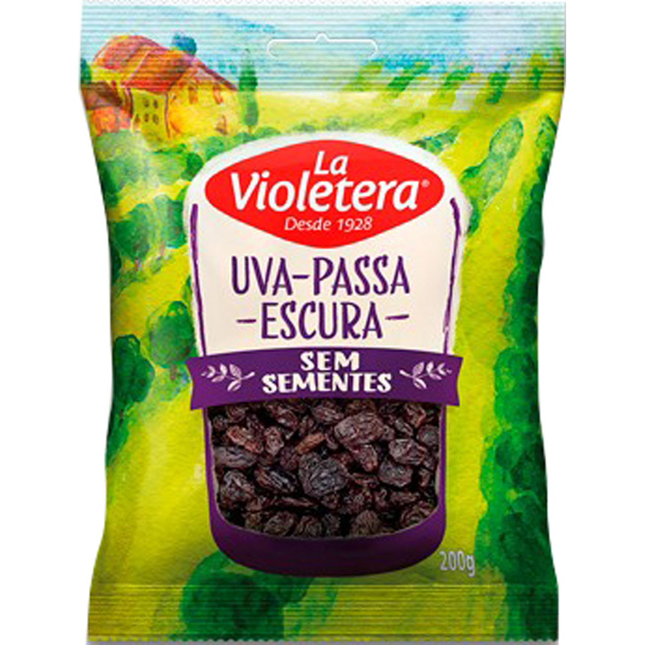 Fruta Natural Uvapassa La Violetera 200G Escs/S