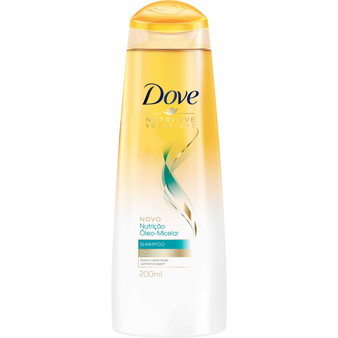 Shampoo Dove 200Ml Oleo Micelar