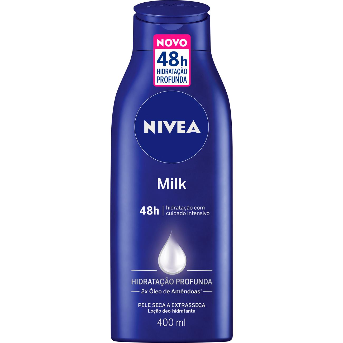 Loção Nivea 200ml Milk