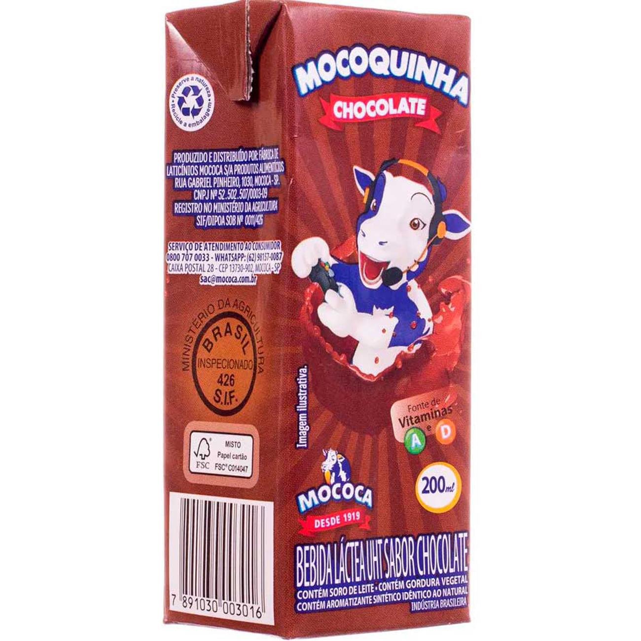 Achocolatado Mocoquinha 200Ml Pronto