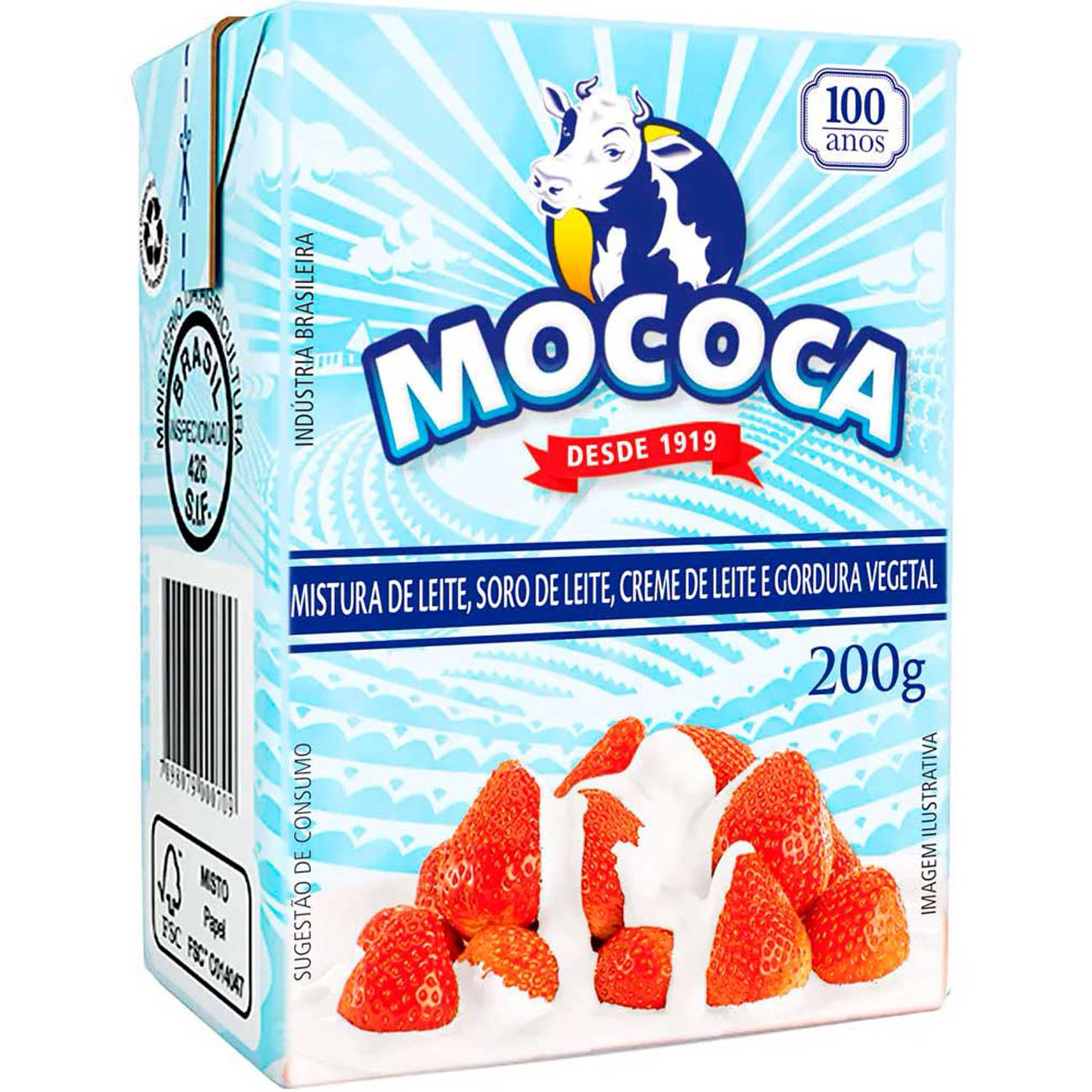 Mistura Lactea Creme Leite Mococa 200G Tp