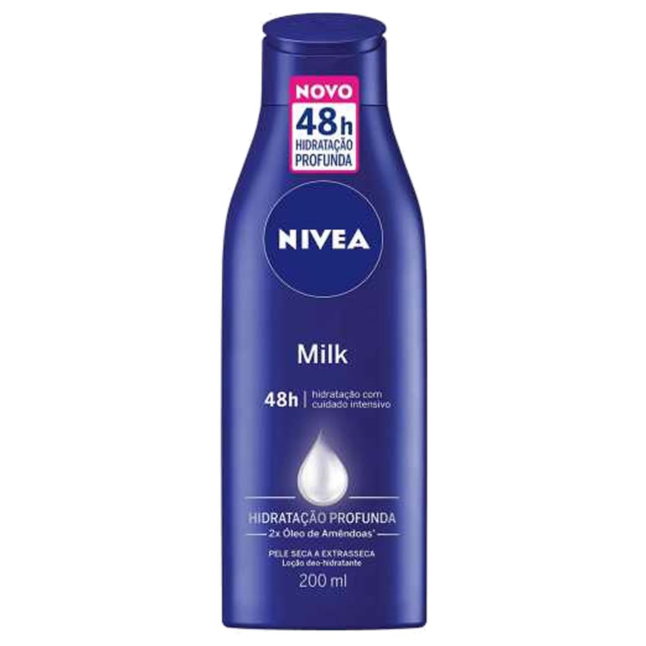 Locao Hidratante Nivea Milk 200ml