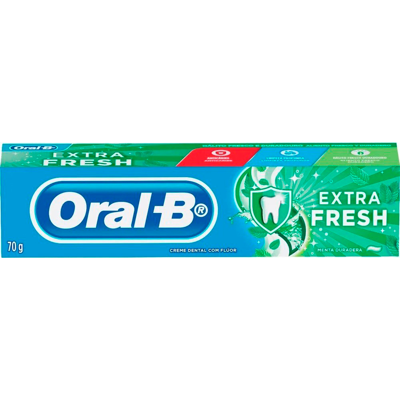 Creme Dental Oral-B 70G Extra Fresh