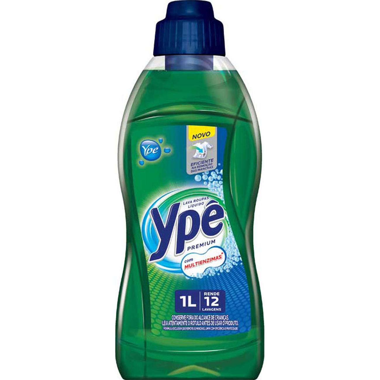 Lava Roupa Líquido Ype 1L Premium