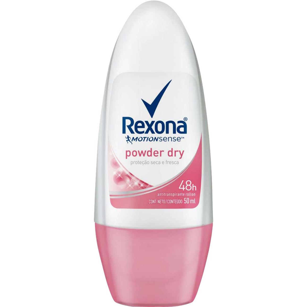 Desodorante Rexona Roll-On 50Ml Fpowder Woman