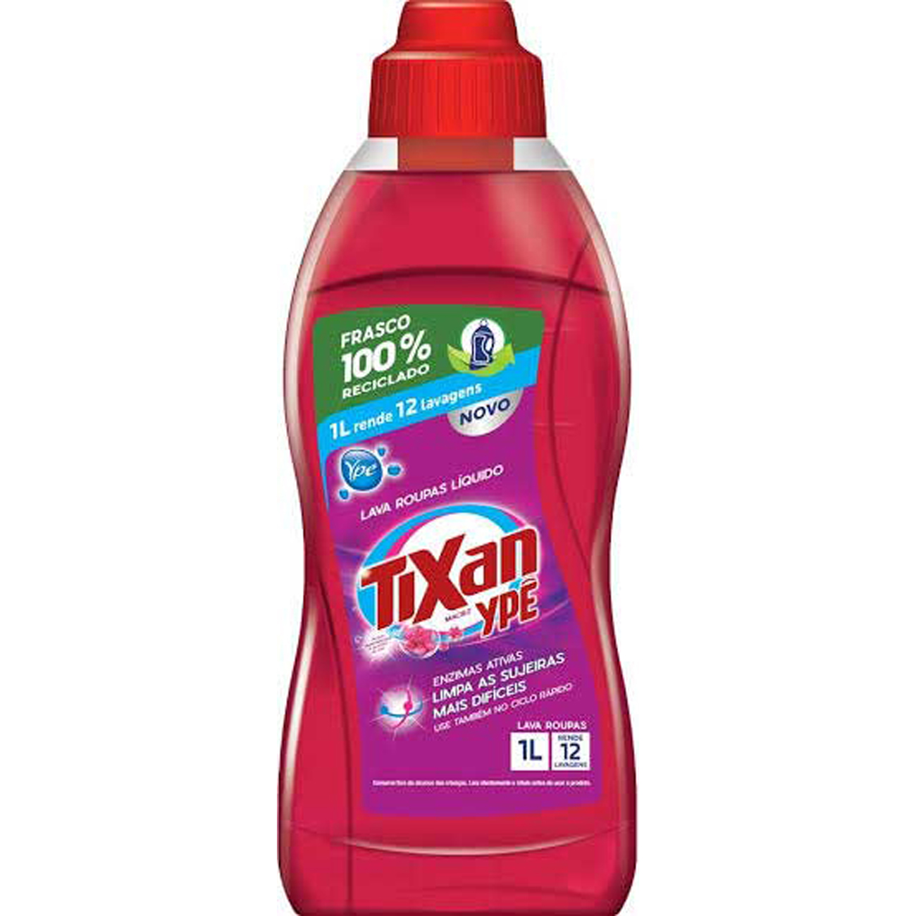 Lava Roupa Liquido Tixan Maciez 1L