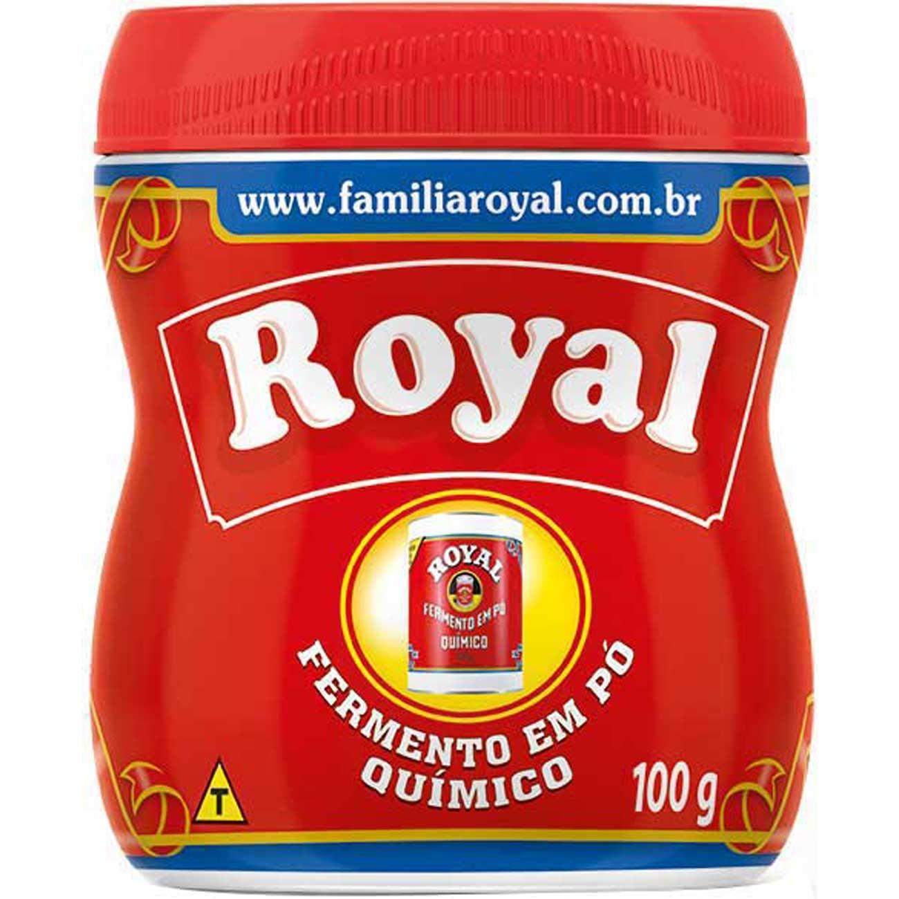 Fermento Quimico em Po Royal 100g