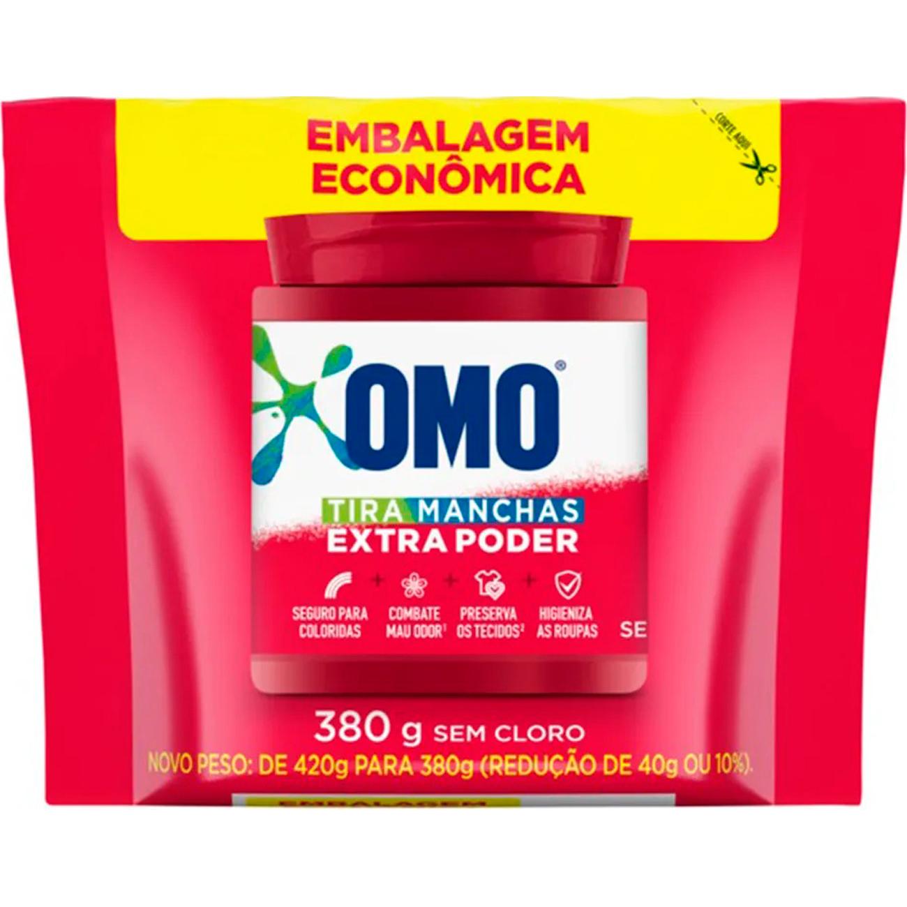 Tira Manchas Omo Extpoder 2X380G Prom Rcolorsc
