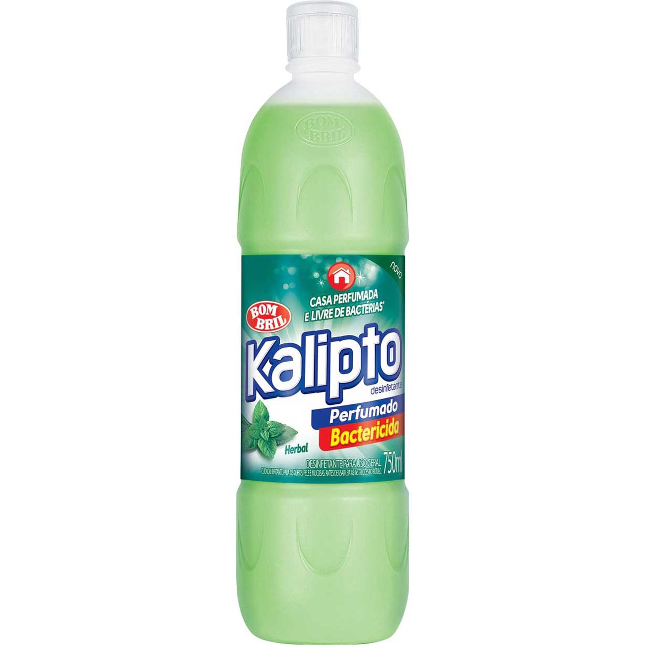 Desinfetante Kalipto 750Ml Herbal