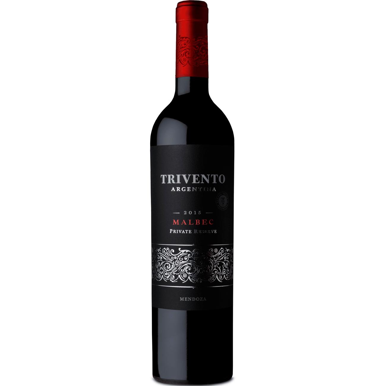 Vinho Argtrivento Privat750Ml Malbec Tt Rese