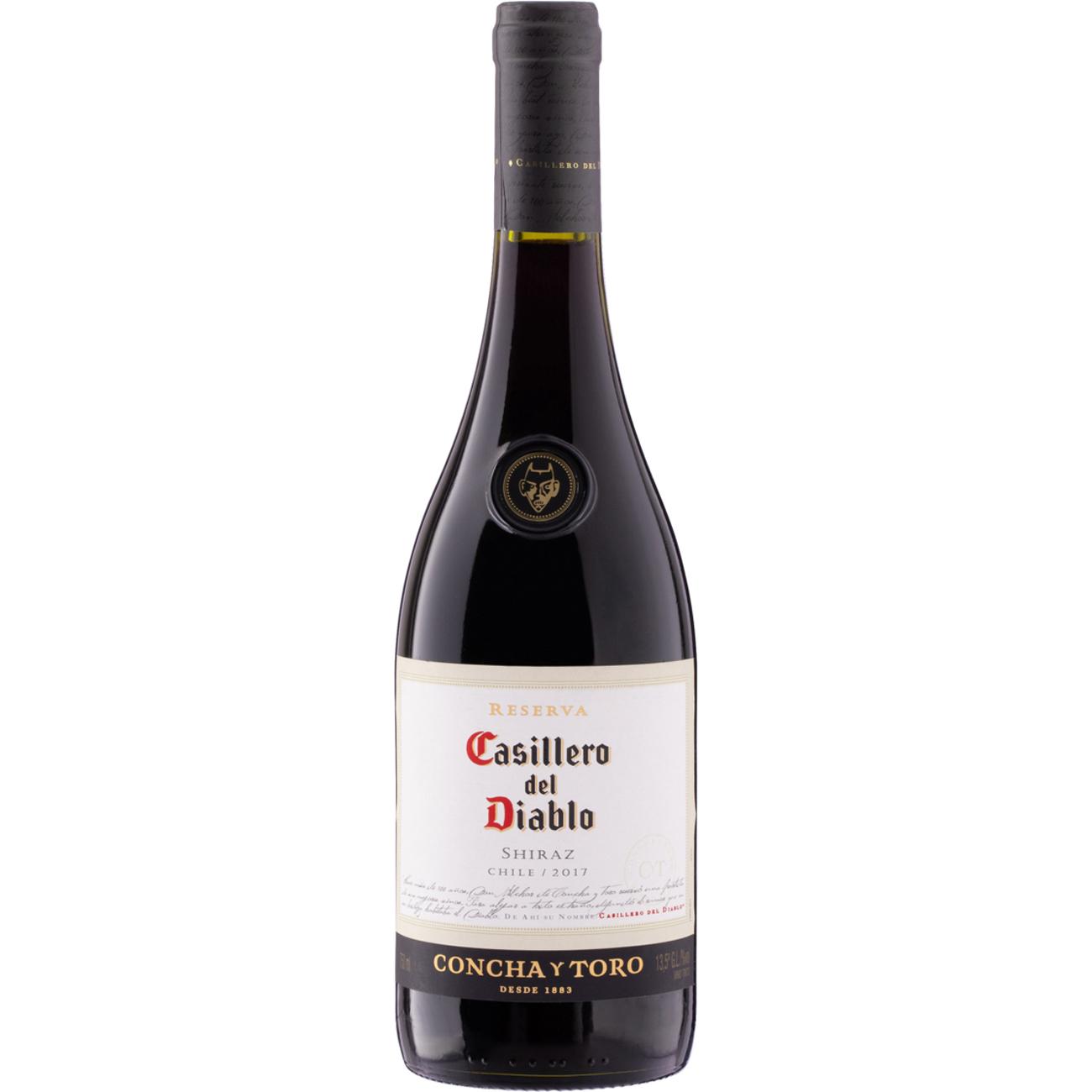 Vinho Casilddiablo 750Ml Shiraz