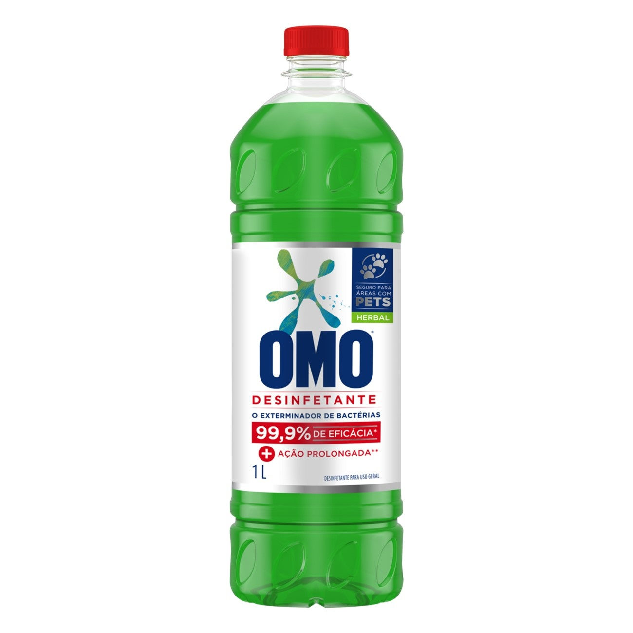 Desinfetante Omo Uso Geral Herbal 1L