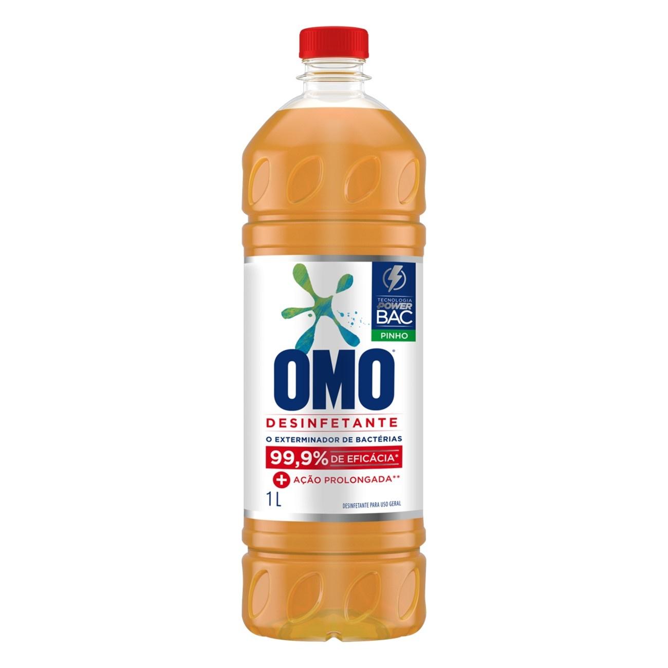 Desinfetante Omo Uso Geral Pinho 1L