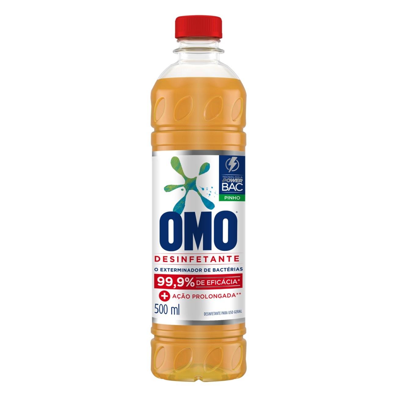 Desinfetante Omo Uso Geral Pinho 500Ml