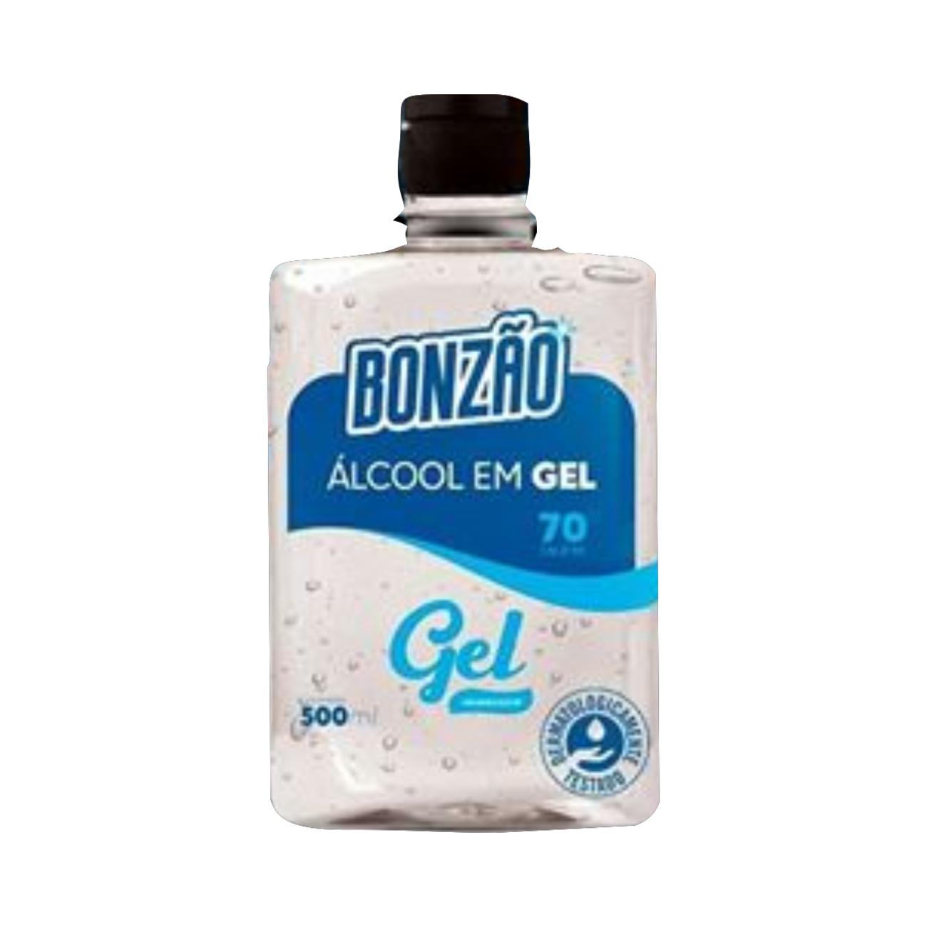 Alcool em Gel Bonzao Para Maos 70° 500Ml
