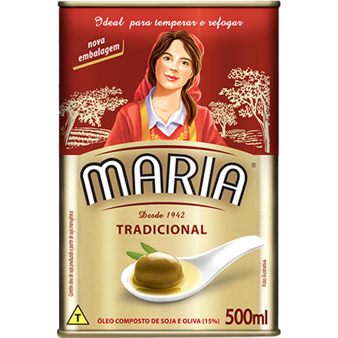 Oleo Composto Maria Tradicional 500ml