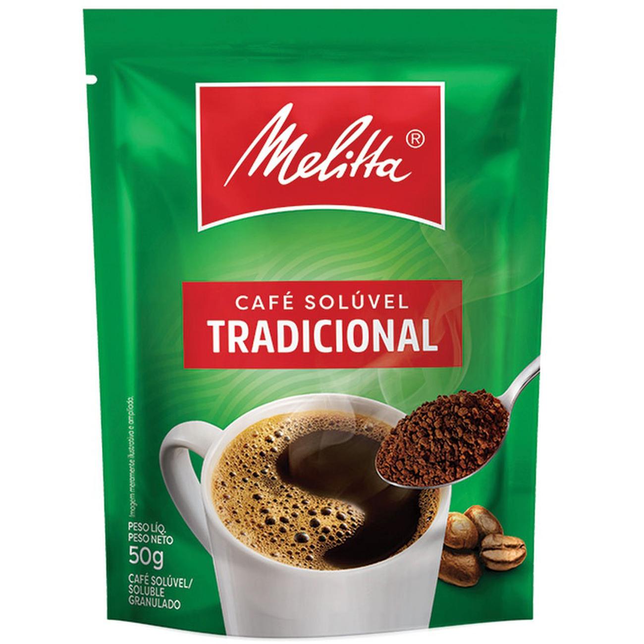 Cafe Soluvel Melitta Tradicional Sache 50G