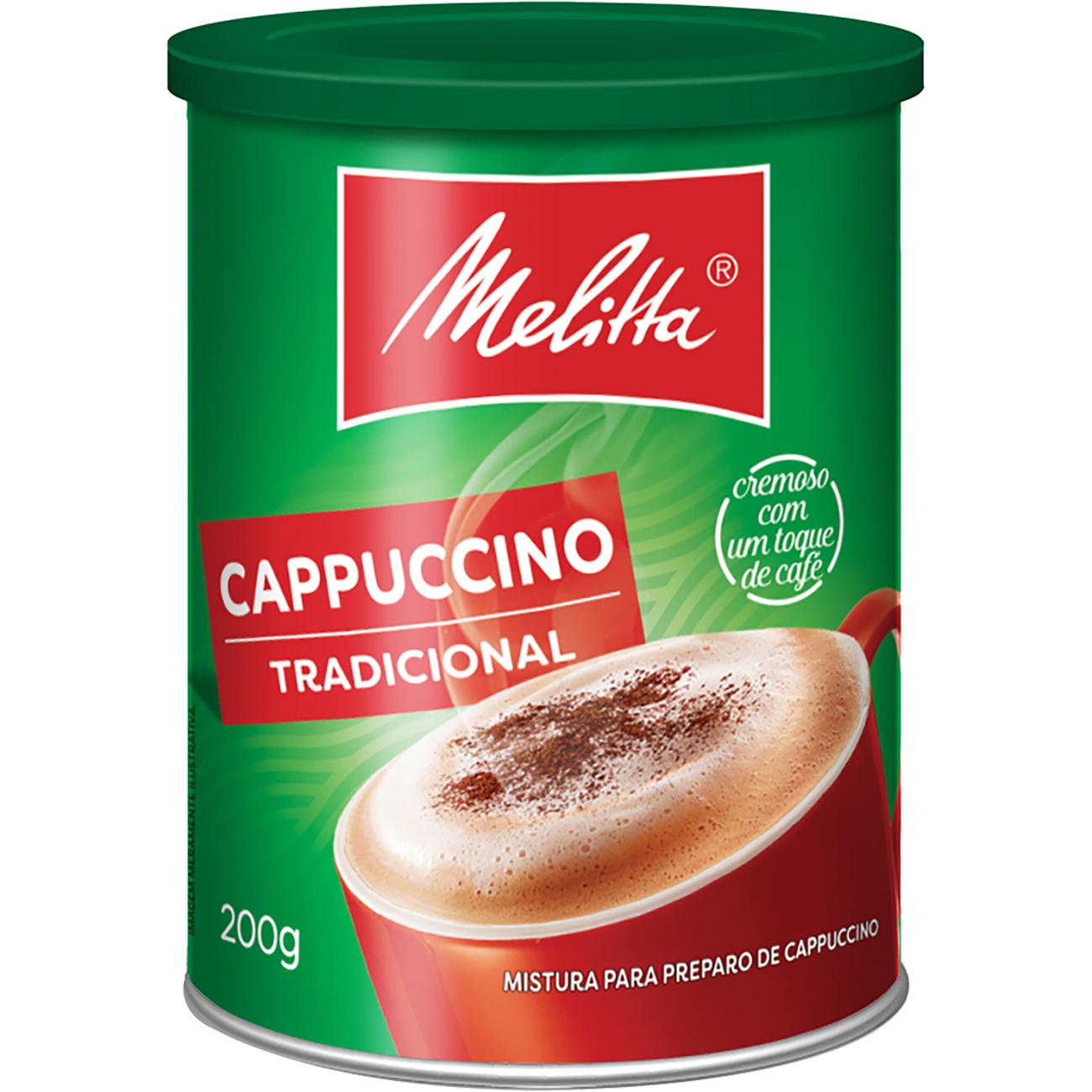Cappuccino Melitta Tradicional 200G