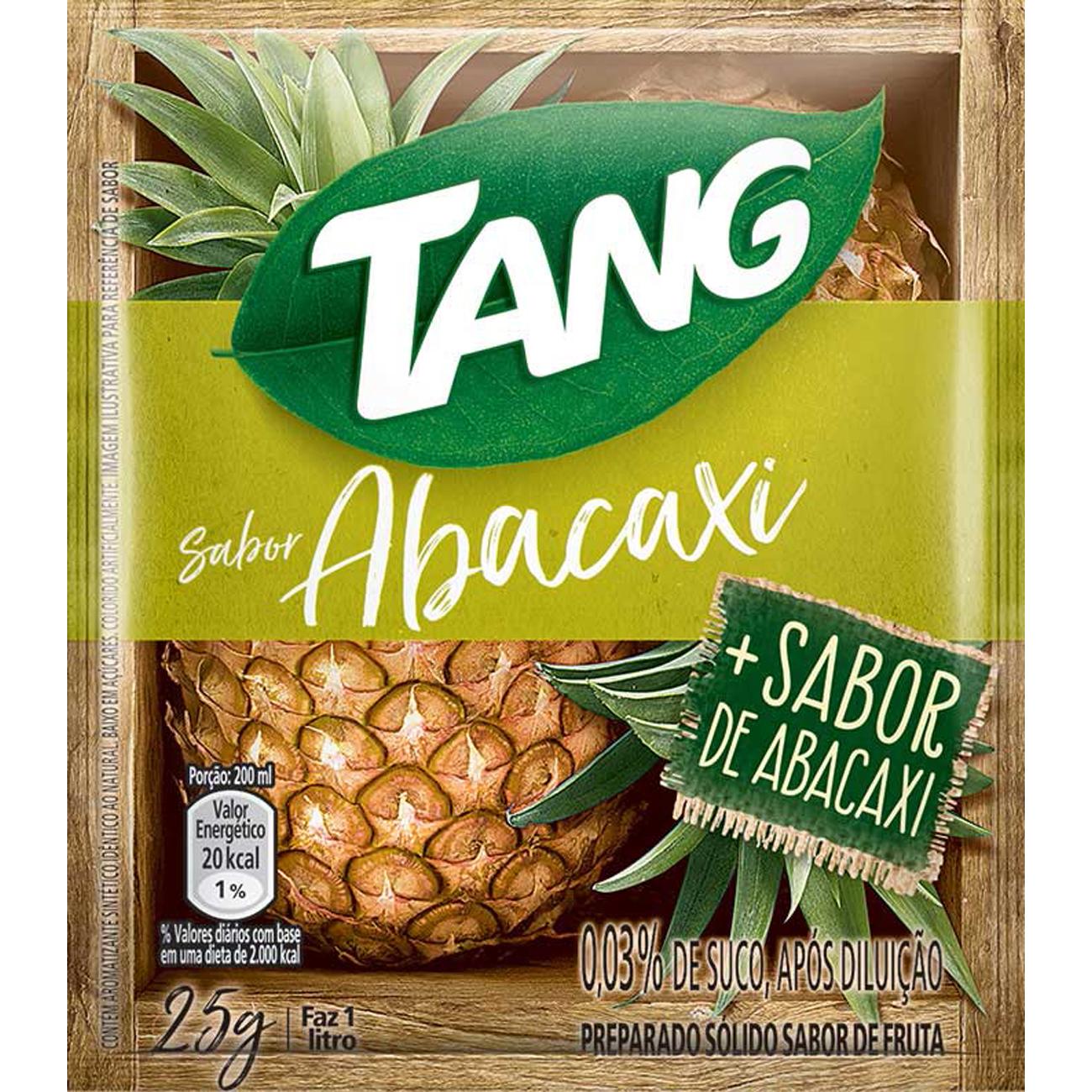 Refresco em Po Tang Abacaxi 25G