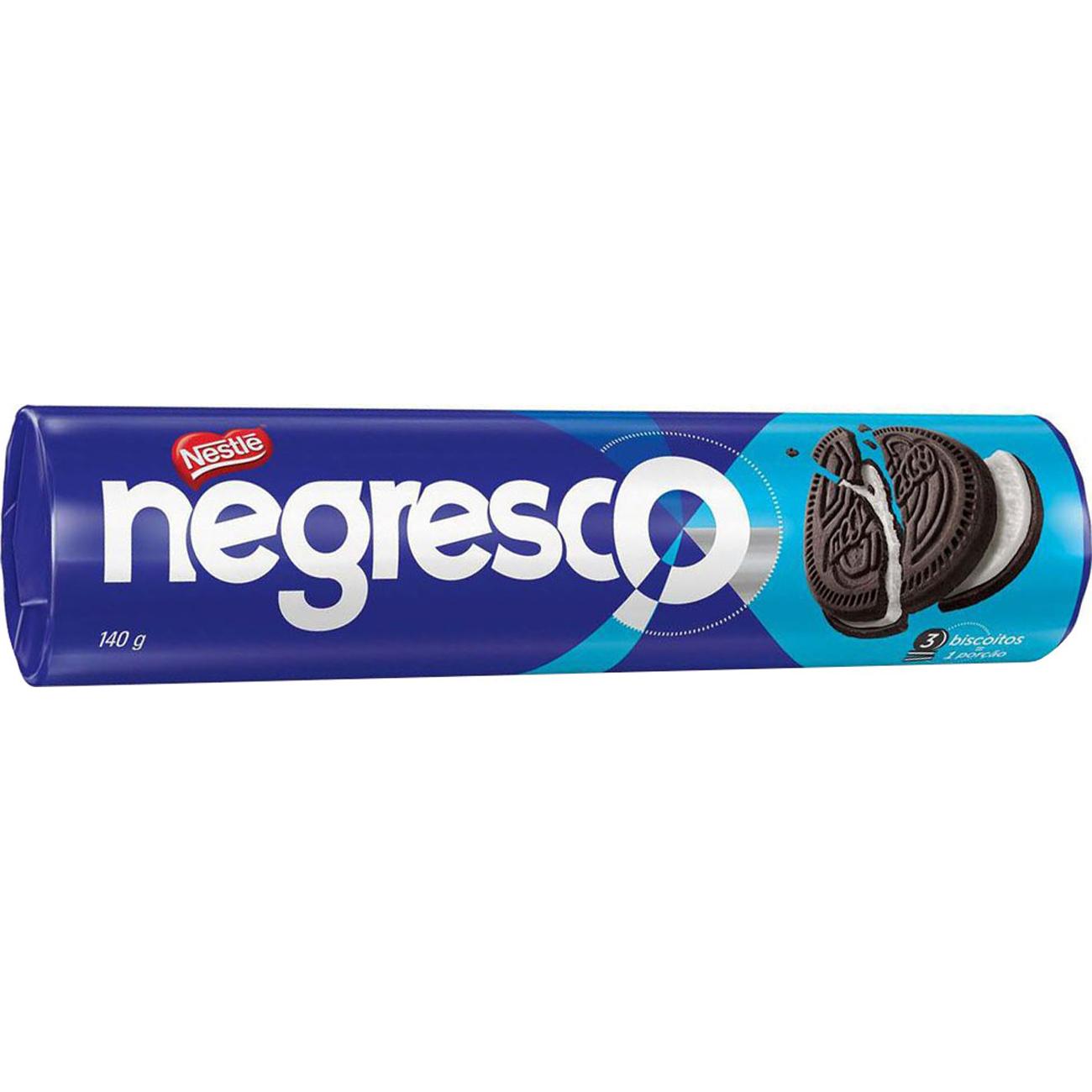 Biscoito Recheado Nestle Negresco Baunilha 140G
