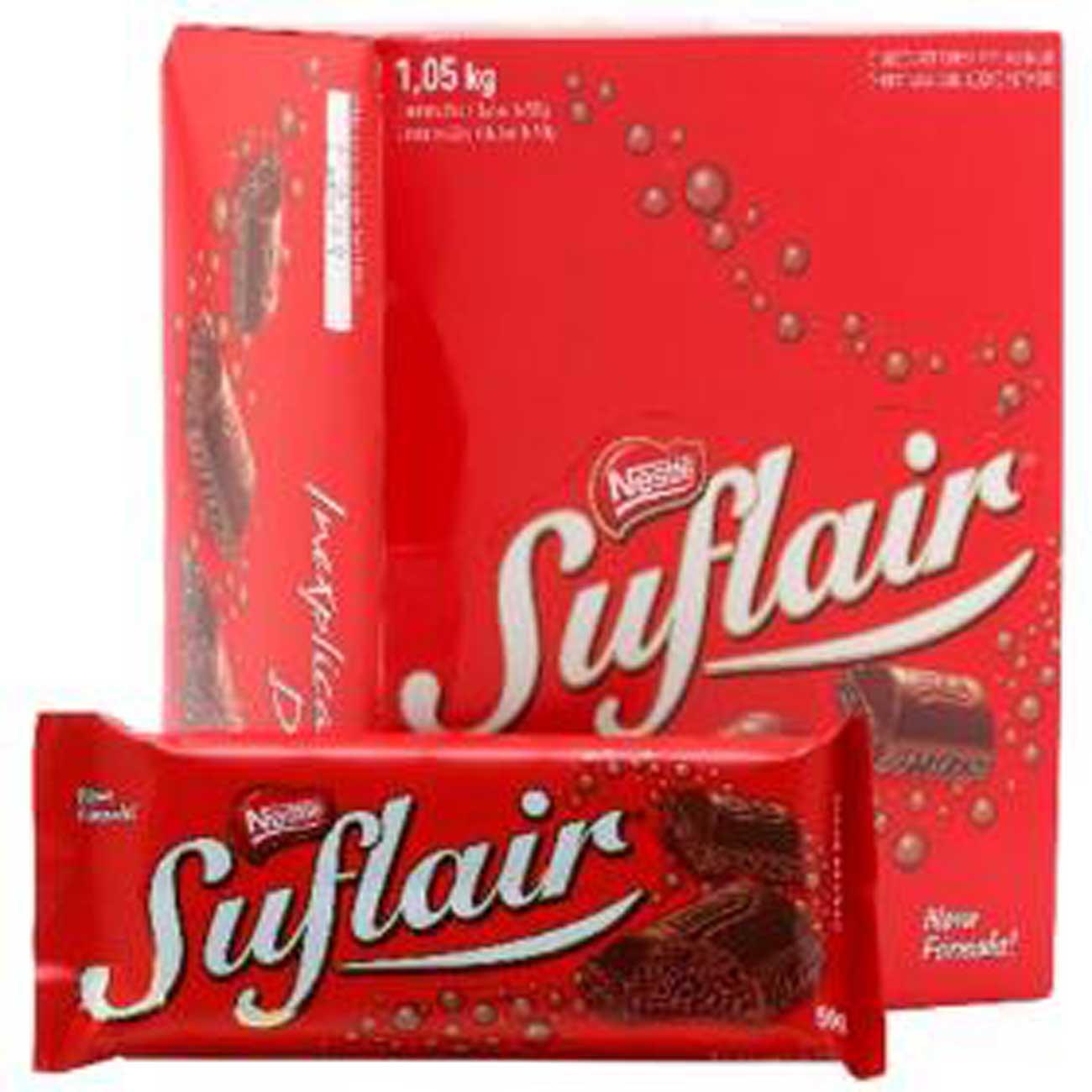 Chocolate Nestle Suflair Ao Leite 50G