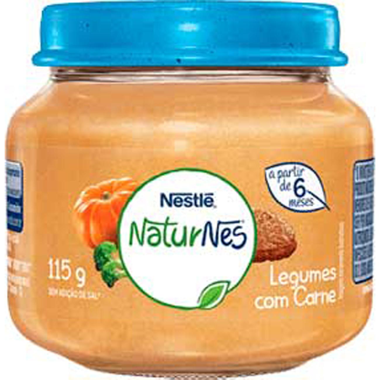Papinha Nestle Carne Com Legumes 115G