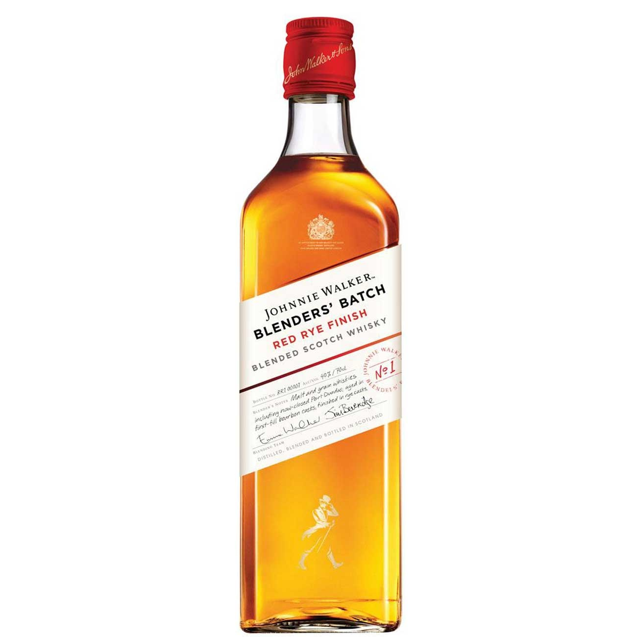 Whisky Johnnie Walker 750Ml Red Rye