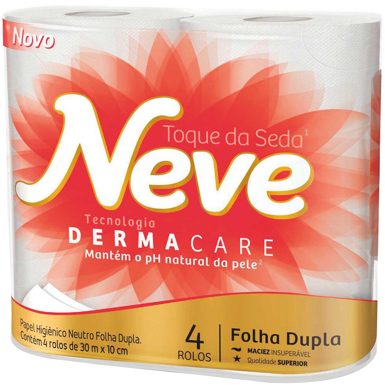 Papel Higienico Neve 4X30M Neutro