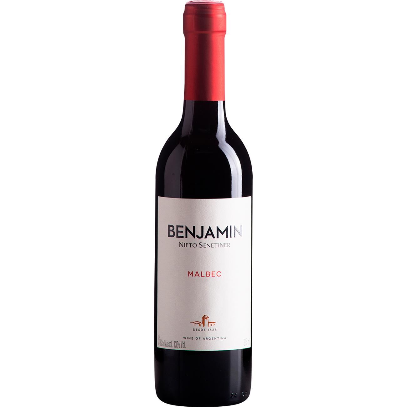 Vinho Benjamin Nieto Malbec Tinto 750Ml